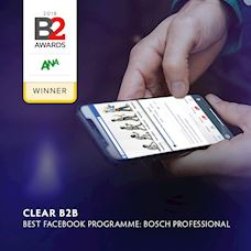 Clear B2B wins gold for Best Facebook Programme